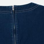 Женская футболка Maison Kitsune Embroidery Blue фото- 3