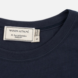 Maison Kitsune Flower Fox Women's T-shirt Navy photo- 2