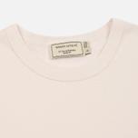 Женская футболка Maison Kitsune Fox Head Patch Light Pink фото- 1