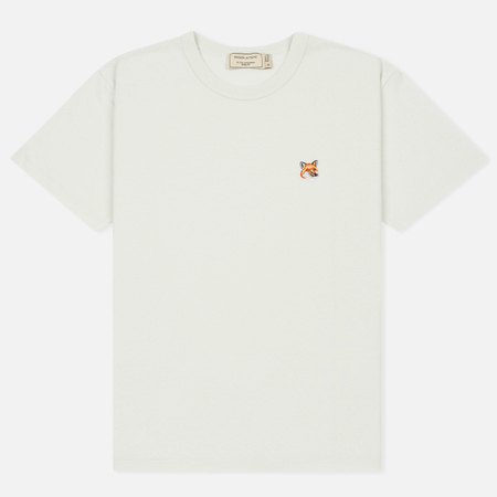 Женская футболка Maison Kitsune Fox Head Patch Lunar