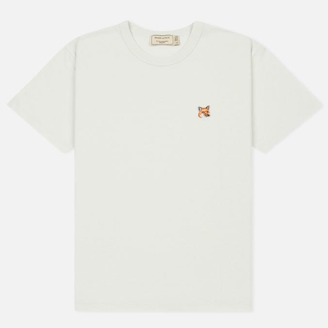 Женская футболка Maison Kitsune Fox Head Patch Lunar