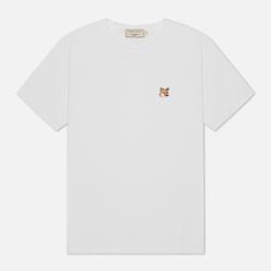 Женская футболка Maison Kitsune Fox Head Patch White