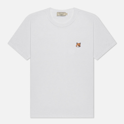 Женская футболка Maison Kitsune Fox Head Patch White