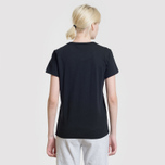 Женская футболка Maison Kitsune Handwriting Black фото- 5