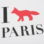 Женская футболка Maison Kitsune I Fox Paris White фото- 2