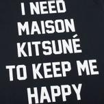 Женская футболка Maison Kitsune I Need Black фото- 3