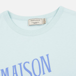 Maison Kitsune Palais Royal Women's T-shirt Aqua Verde photo- 1