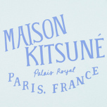 Maison Kitsune Palais Royal Women's T-shirt Aqua Verde photo- 3