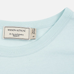 Maison Kitsune Palais Royal Women's T-shirt Aqua Verde photo- 2