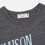 Женская футболка Maison Kitsune Palais Royal Black Melange фото- 1