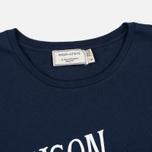 Женская футболка Maison Kitsune Palais Royal Navy фото- 1