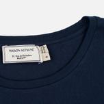 Женская футболка Maison Kitsune Palais Royal Navy фото- 3
