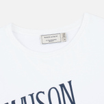 Женская футболка Maison Kitsune Palais Royal White фото- 1