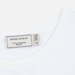 Женская футболка Maison Kitsune Palais Royal White фото- 2