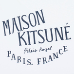 Женская футболка Maison Kitsune Palais Royal White фото- 3
