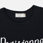 Женская футболка Maison Kitsune Parisienne Black фото- 1