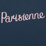 Женская футболка Maison Kitsune Parisienne Blue Storm фото- 2