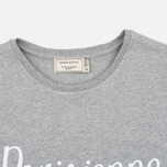 Maison Kitsune Parisienne Women's T-shirt Grey Melange photo- 1