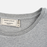 Maison Kitsune Parisienne Women's T-shirt Grey Melange photo- 2