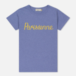 Женская футболка Maison Kitsune Parisienne Lavender фото- 0