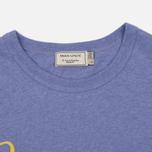 Женская футболка Maison Kitsune Parisienne Lavender фото- 1