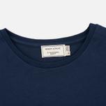 Женская футболка Maison Kitsune Parisienne Navy фото- 1