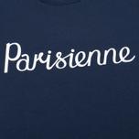 Женская футболка Maison Kitsune Parisienne Navy фото- 3