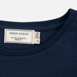 Женская футболка Maison Kitsune Parisienne Navy фото- 2