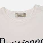 Женская футболка Maison Kitsune Parisienne White фото- 1