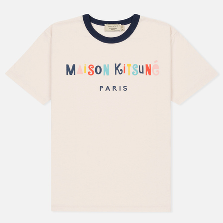 Женская футболка Maison Kitsune Party Light Pink