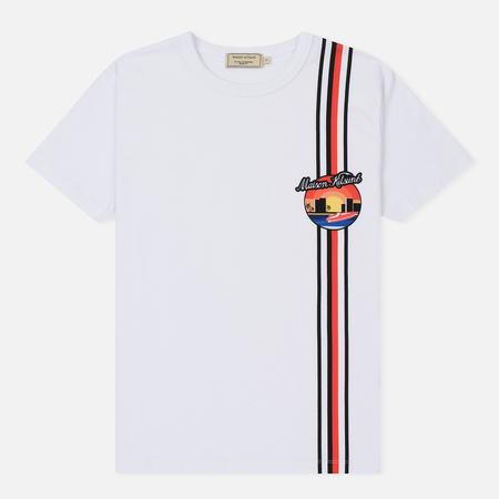 Женская футболка Maison Kitsune Sunset White