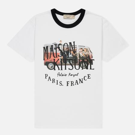Женская футболка Maison Kitsune Van White
