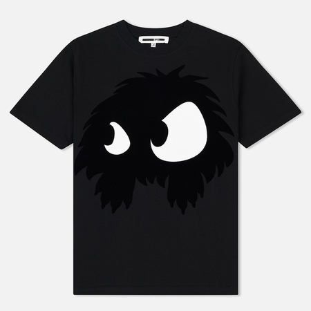 Женская футболка McQ Alexander McQueen Band Chester Monster Darkest Black