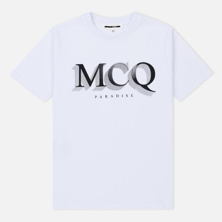 Женская футболка McQ Alexander McQueen Band MCQ Paradise Small Optic White