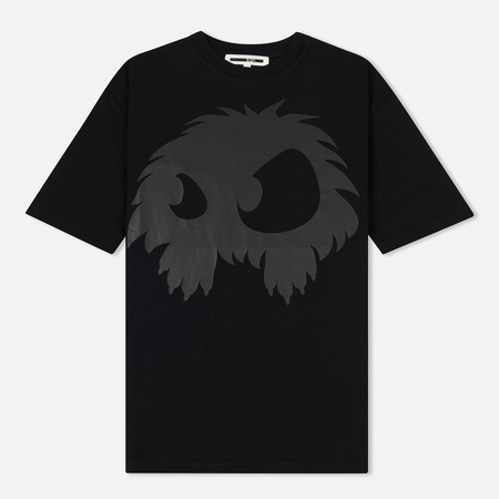 Женская футболка McQ Alexander McQueen Boyfriend Chester Monster Darkest Black