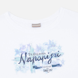 Napapijri Sambada Women's T-shirt Fantasy 2 White photo- 1
