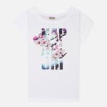 Женская футболка Napapijri Sambada Fantasy White фото- 0