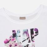 Женская футболка Napapijri Sambada Fantasy White фото- 1