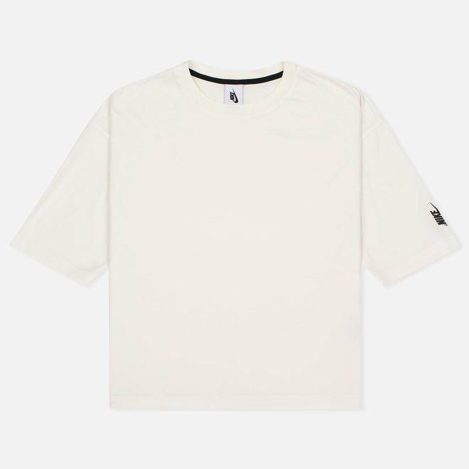 Женская футболка Nike Essentials Cotton Crew Sail/Black