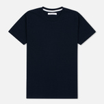 Женская футболка Norse Projects Gro Bubble Dark Navy фото- 0