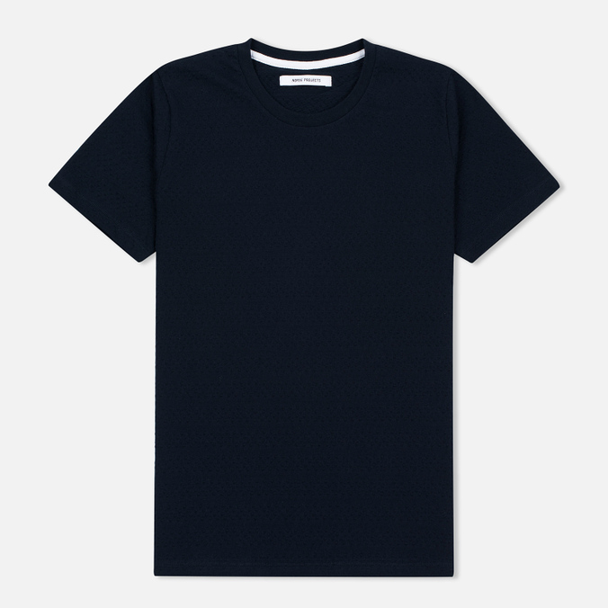 Женская футболка Norse Projects Gro Bubble Dark Navy