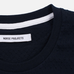 Женская футболка Norse Projects Gro Bubble Dark Navy фото- 2