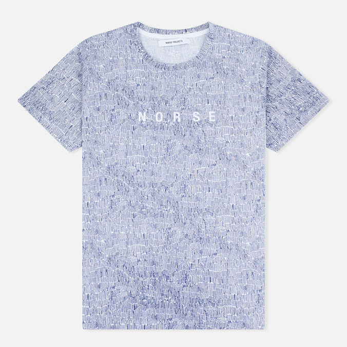Norse Projects Gro Cotton Logo Women's T-shirt White