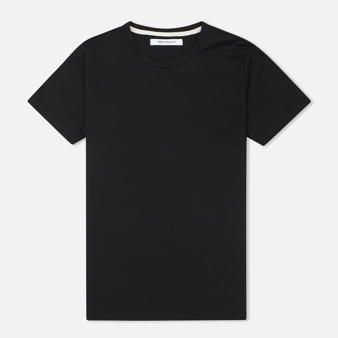 Женская футболка Norse Projects Gro Mercerised Cotton Black