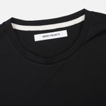 Женская футболка Norse Projects Gro Mercerised Cotton Black фото- 1