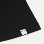 Женская футболка Norse Projects Gro Mercerised Cotton Black фото- 4