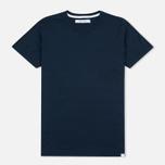 Женская футболка Norse Projects Gro Mercerised Cotton Dark Navy фото- 0