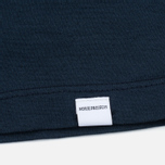 Женская футболка Norse Projects Gro Mercerised Cotton Dark Navy фото- 2