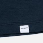 Женская футболка Norse Projects Gro Mercerised Cotton Dark Navy фото- 2
