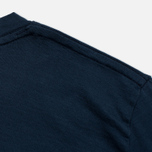 Женская футболка Norse Projects Gro Mercerised Cotton Dark Navy фото- 3